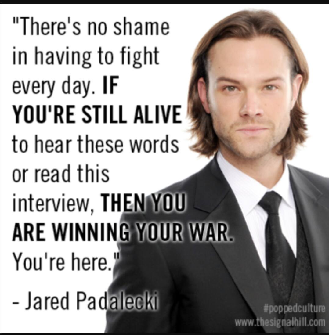 Jared padalecki quotes - Quote It